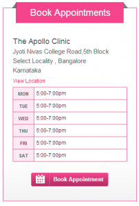 Book Appointments- Dr.Rasya Dixit