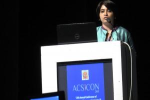 Dr.Rasya Dixit speaking at ACSICON 2015