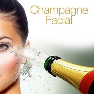 champagne facial