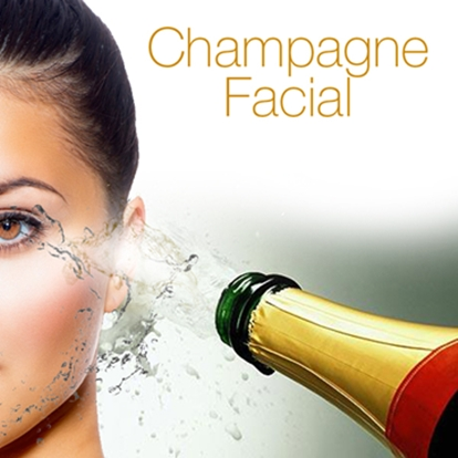 champagne facial